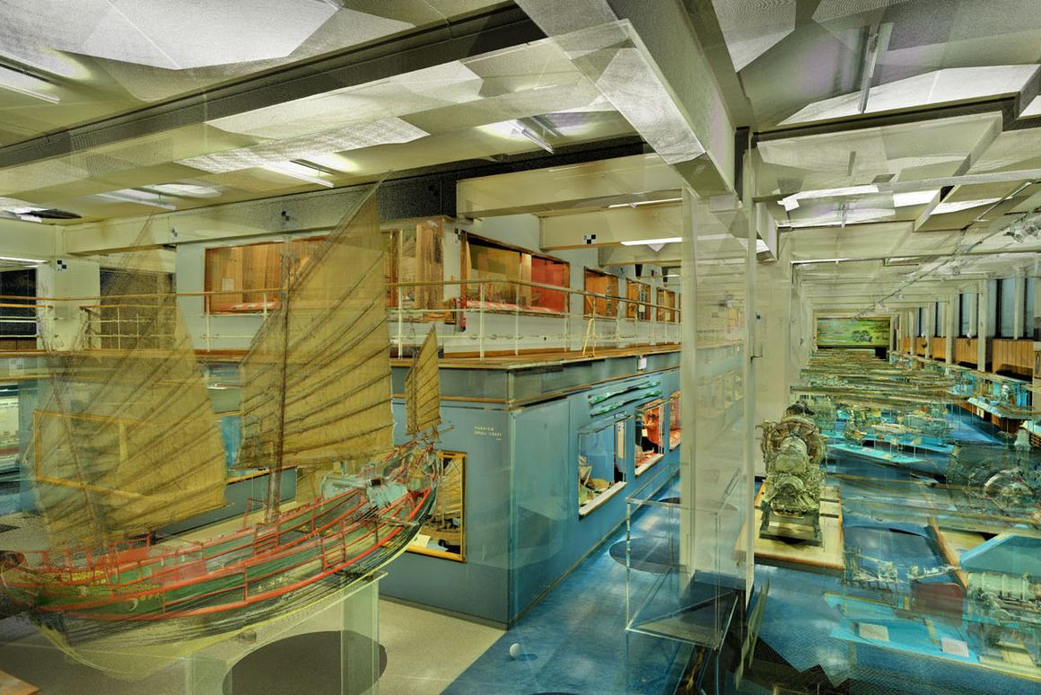 The Shipping Gallery was open for fifty years (Image: ScanLAB Projects Ltd)