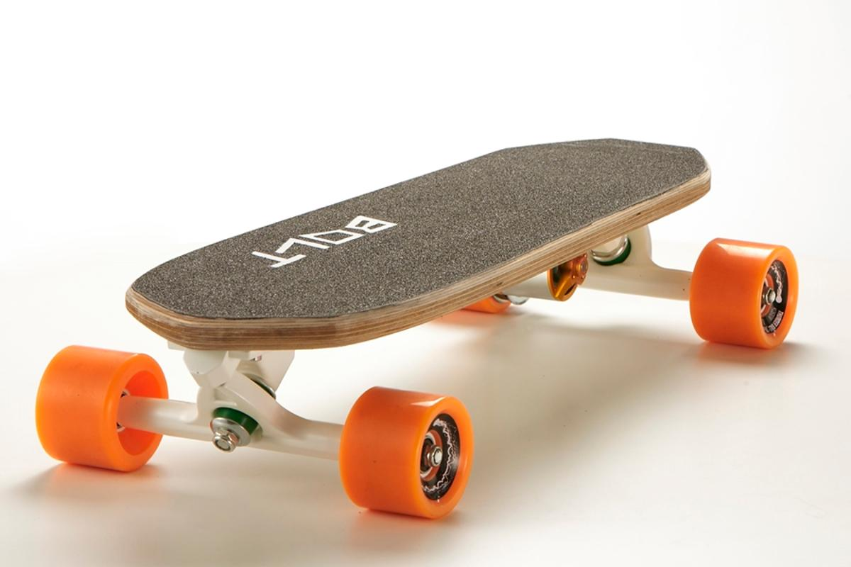 The Bolt electric skateboard is designed for commuting