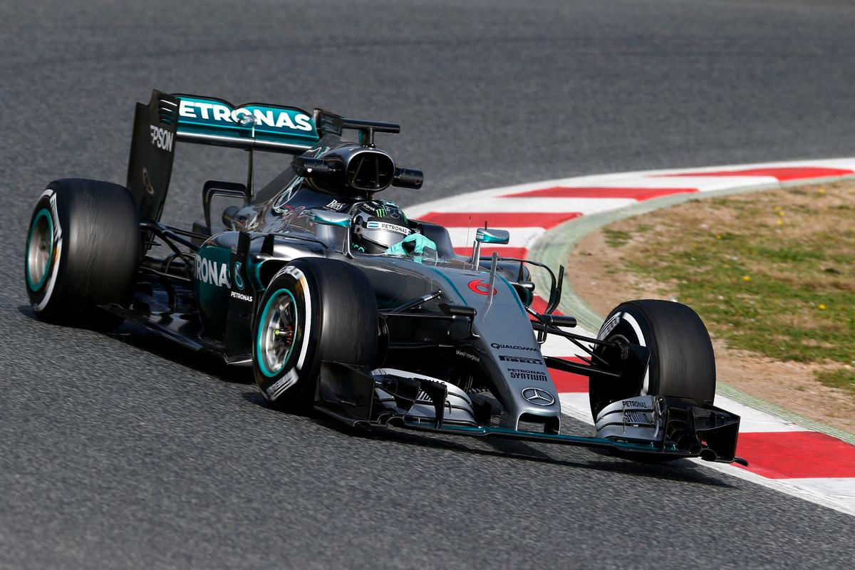 Lewis Hamilton and Nico Rosberg will be hoping this year's car picks up where the championship winner left off