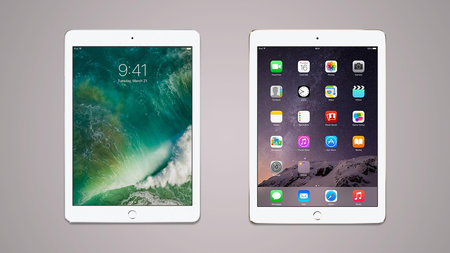 The iPad just replaced the iPad Air 2 in Apple's tablet lineup. Here's howthe two stack up.