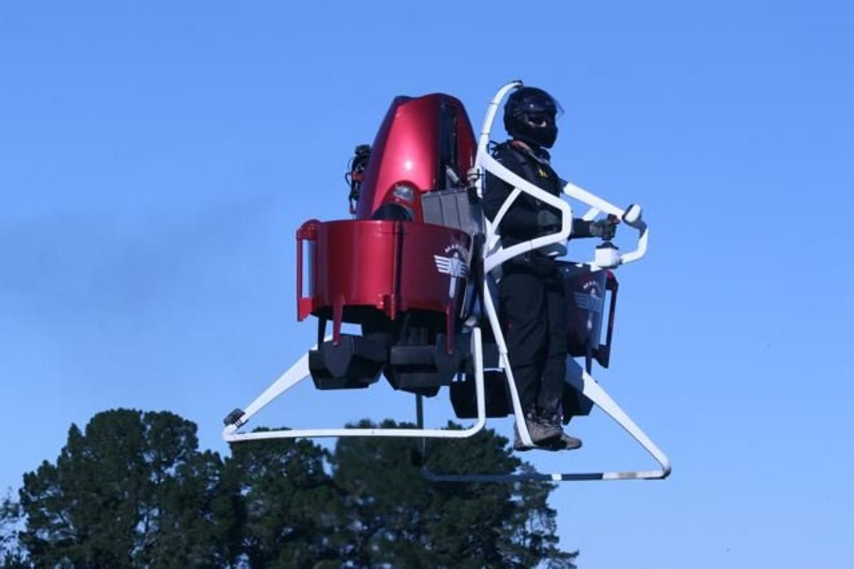 The Martin Jetpack will be used to advance technologies used in first responder services