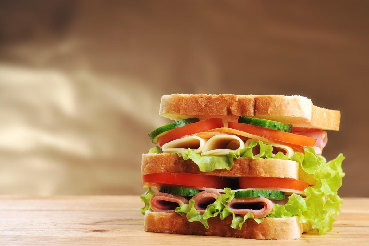 Sandwiches have a surprisingly large carbon footprint