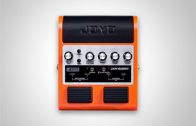 The Jam Buddy offers the player clean and overdrive channels