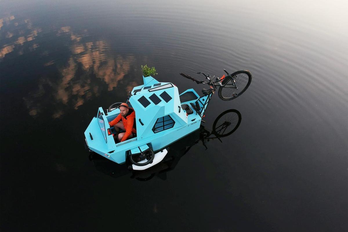 Z-Triton trike/boat/motorhome