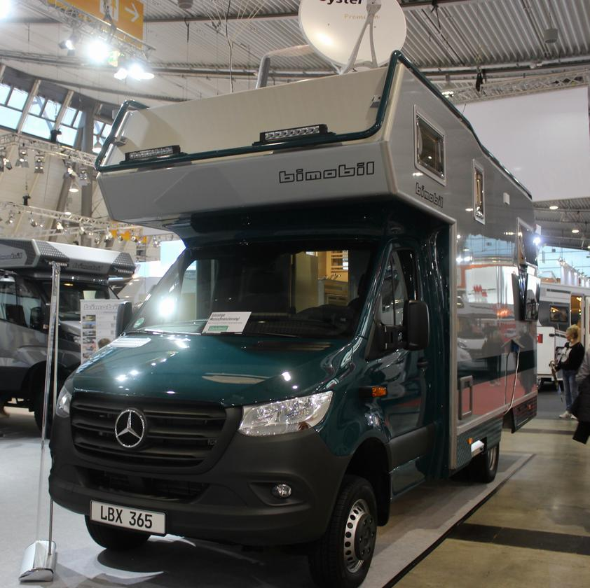 Bimobil builds its LBX 365 on the third-gen Sprinter, incorporating MBAC technology into the updated design