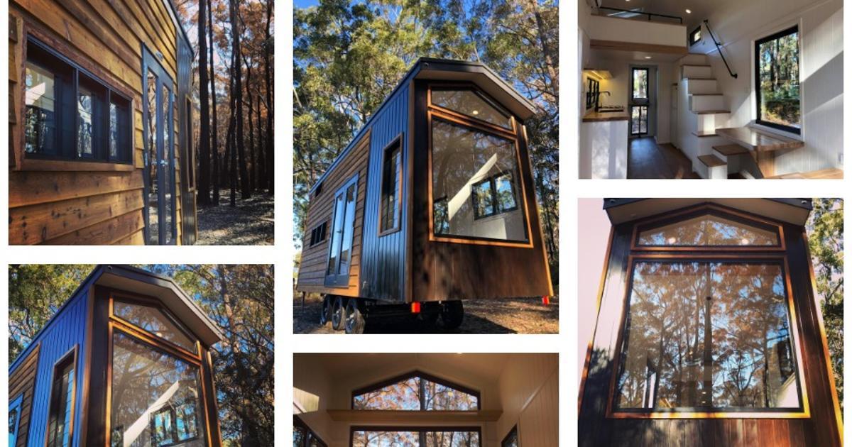 Stunning window wall dominates Australian tiny house