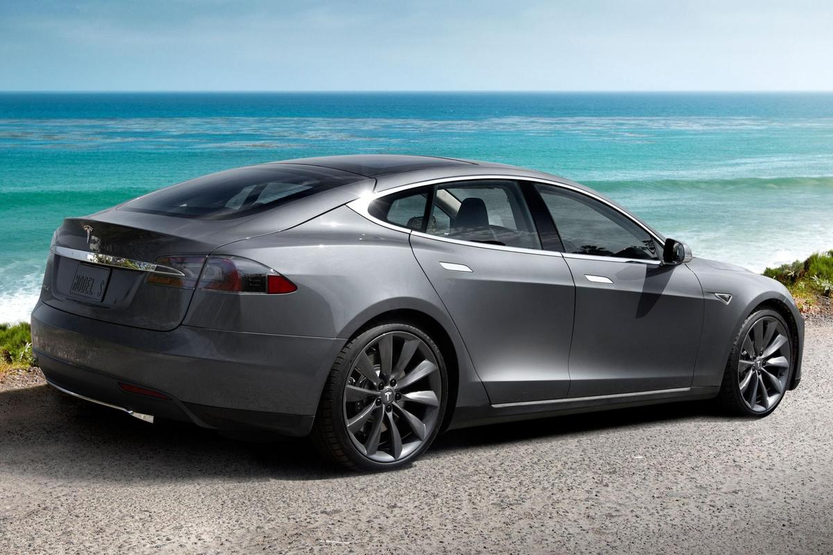 Tesla's new Model III will join the Model S (pictured) and Model X in Tesla's stable of all-electrics