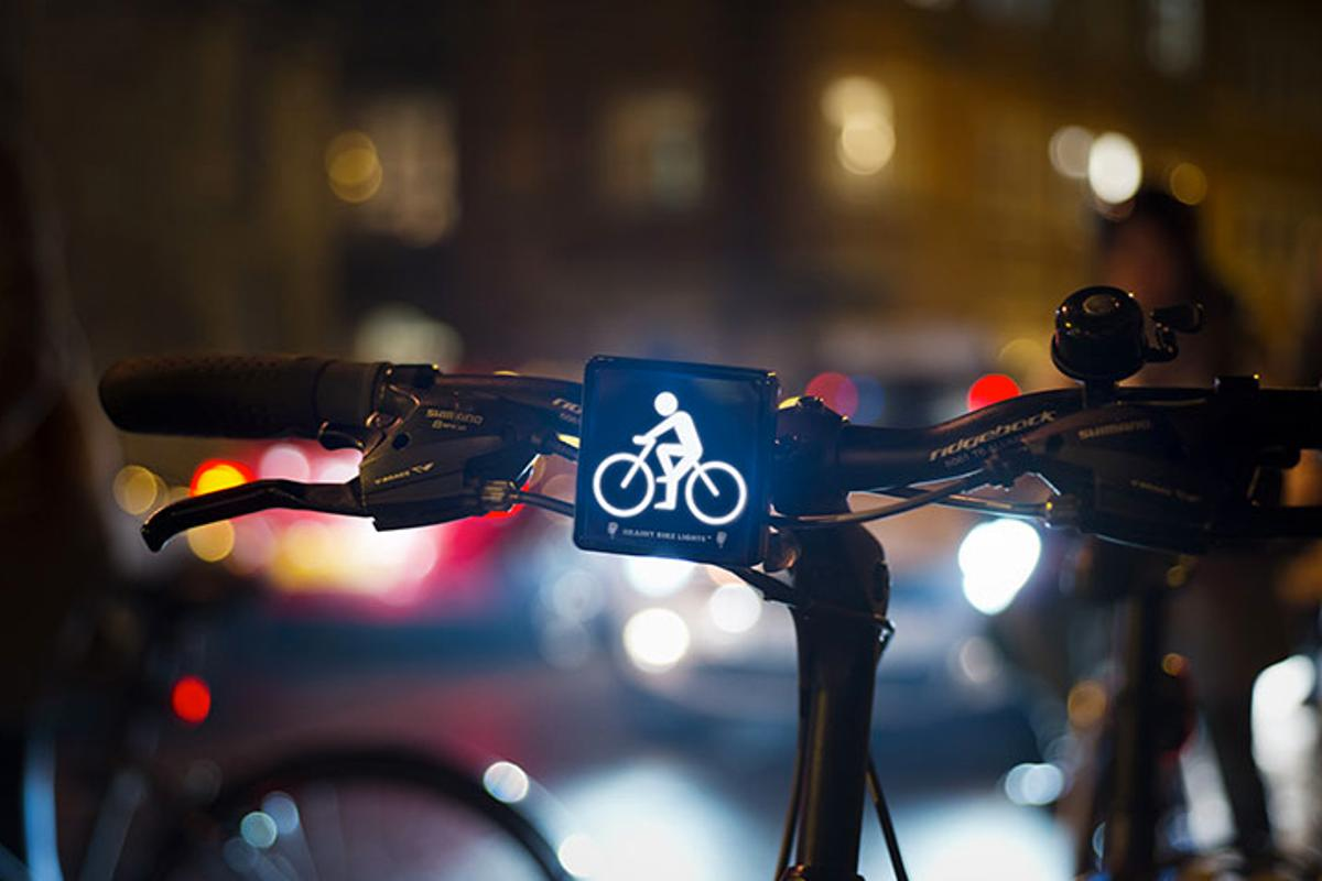 The Brainy Bike Lights headlight