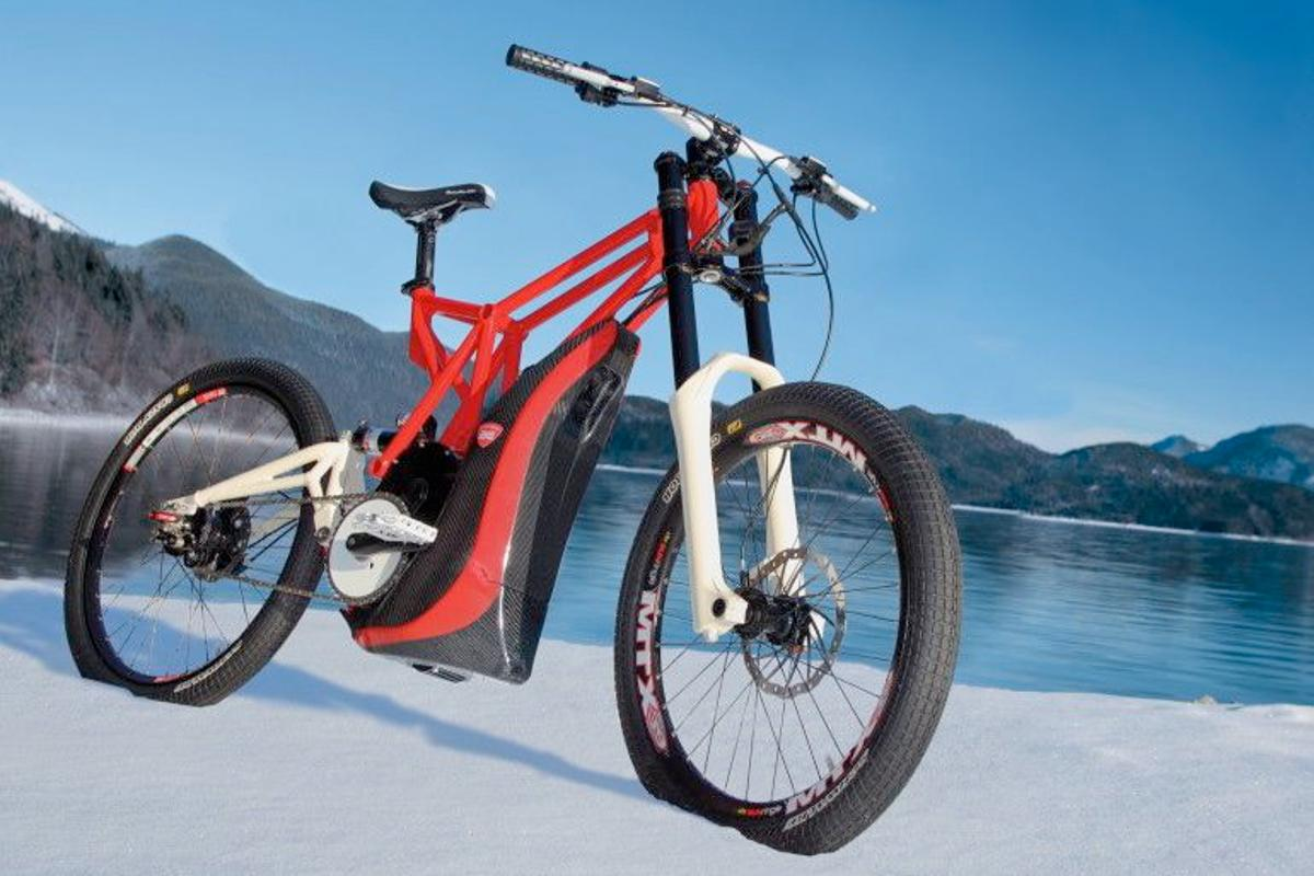 Third Elements' eSpire hybrid drive electric bicycle