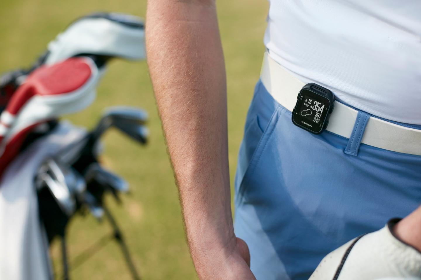The Approach G10 is the smallest GPS device for golfers the company has produced