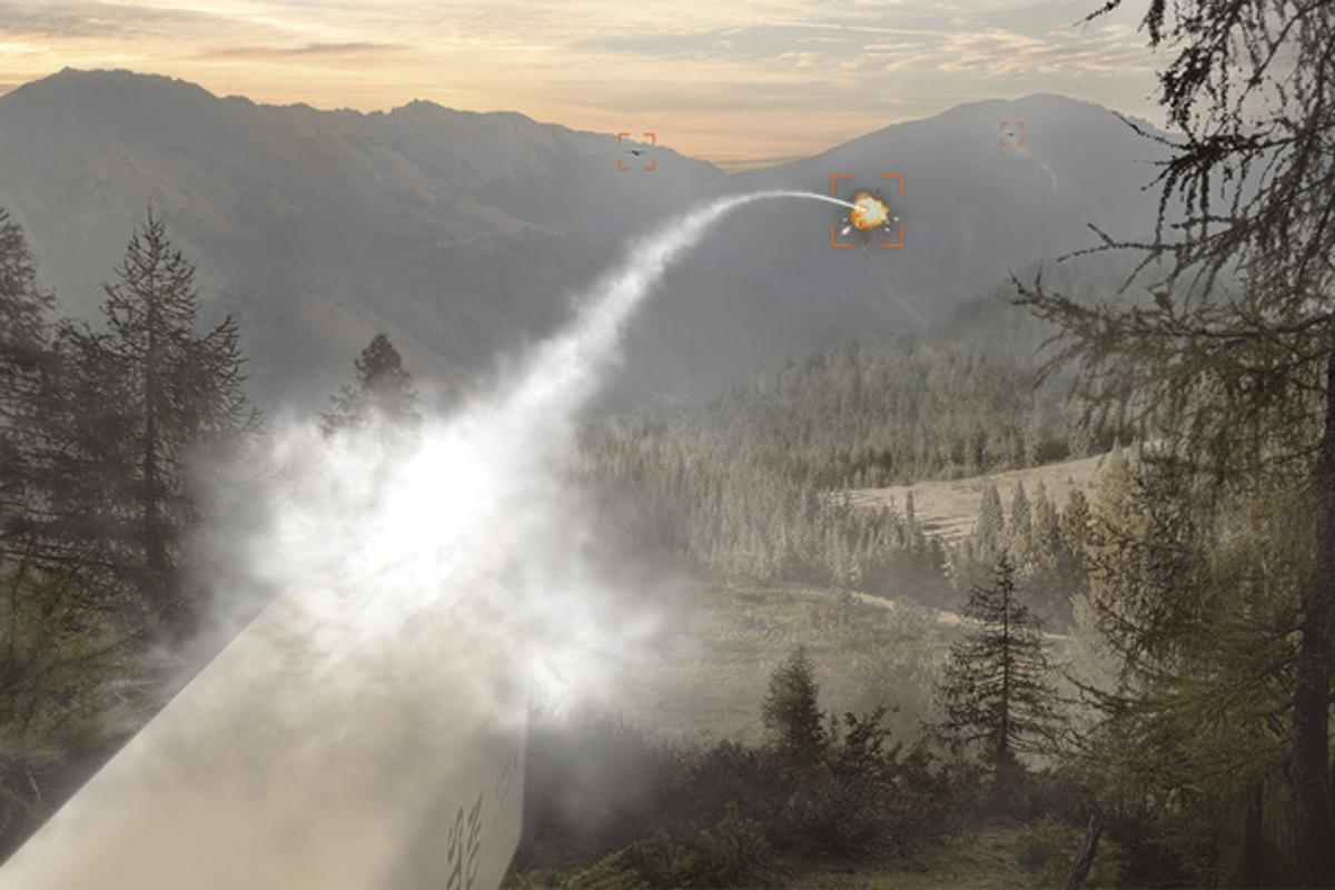 BAE Systems' APKWS rockets do not need to lock on the target before launch
