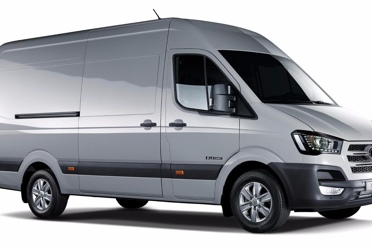 It looks like a van and drives like a van, but it's powered by hydrogen