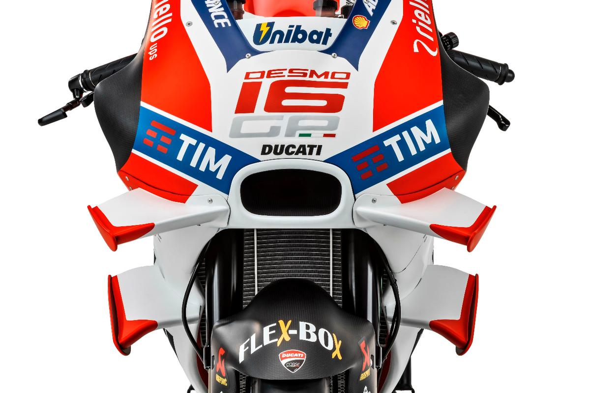 Ducati introduced aerodynamic winglets on its bikes, and soon other manufacturers followed suit