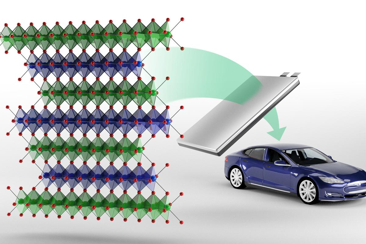 Researchers have developed a cobalt-free battery architecture they hope can one day be used to power electric vehicles
