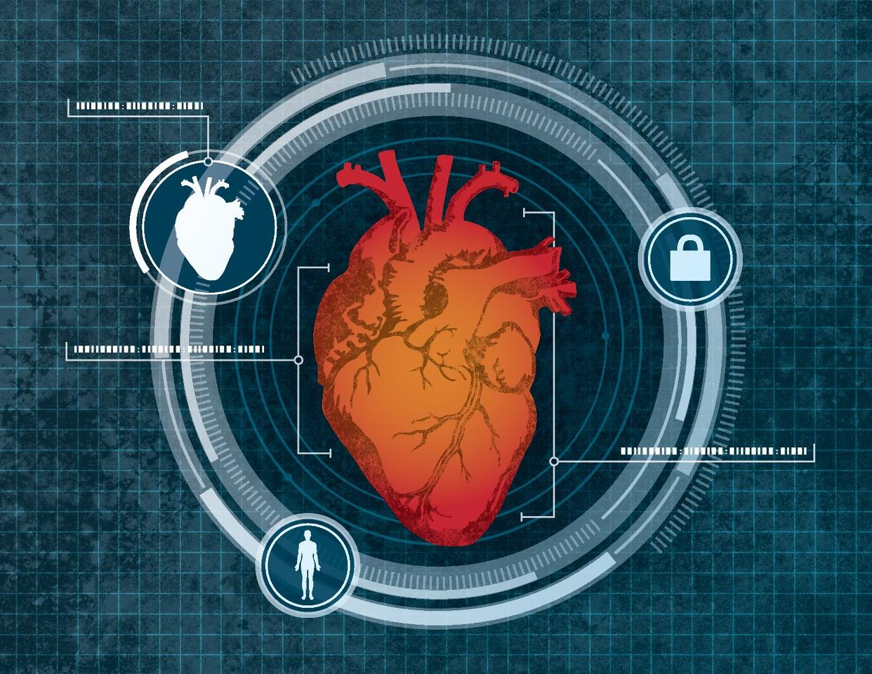Moving on from fingerprints or facial scanning, a new security system identifies a user's unique heart geometry