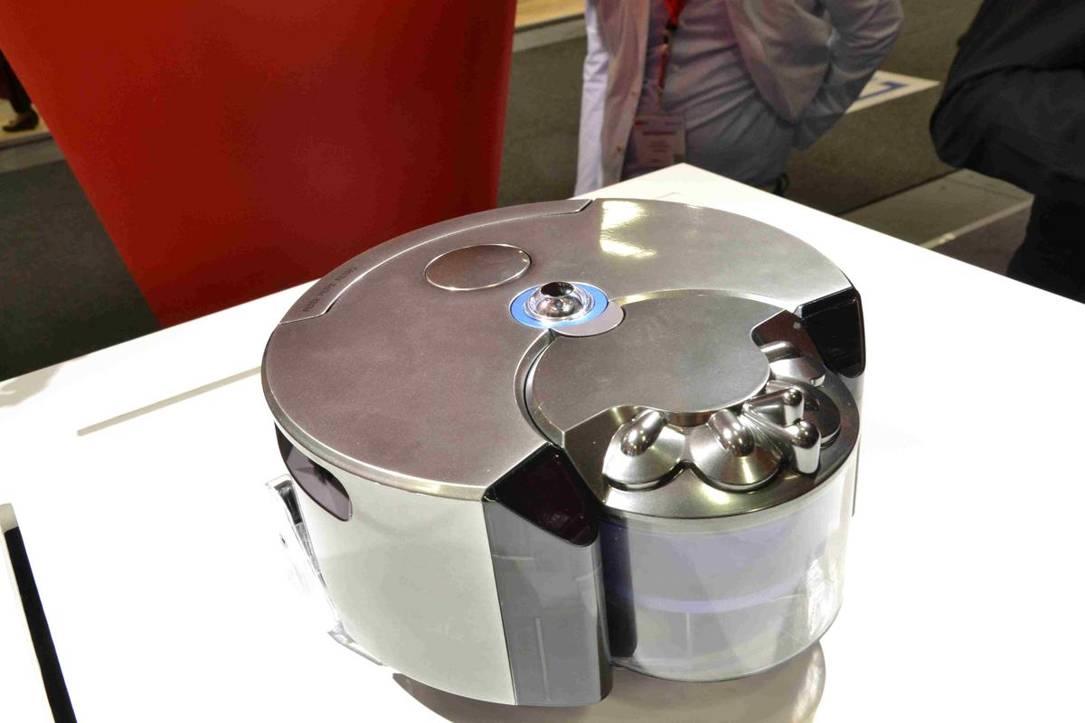 The Dyson 360 Eye on display at IFA 2014 in Berlin (Photo: Paul Ridden/Gizmag)