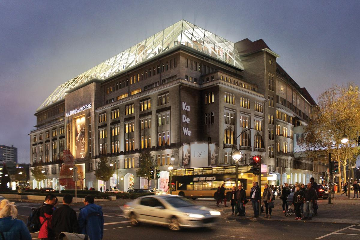 First opened in 1907, the KaDeWe is continental Europe's largest department store