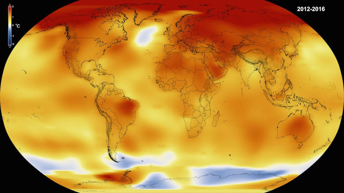 NASA has released a report that says globally, 2016 was the hottest year on record, for the third year in a row