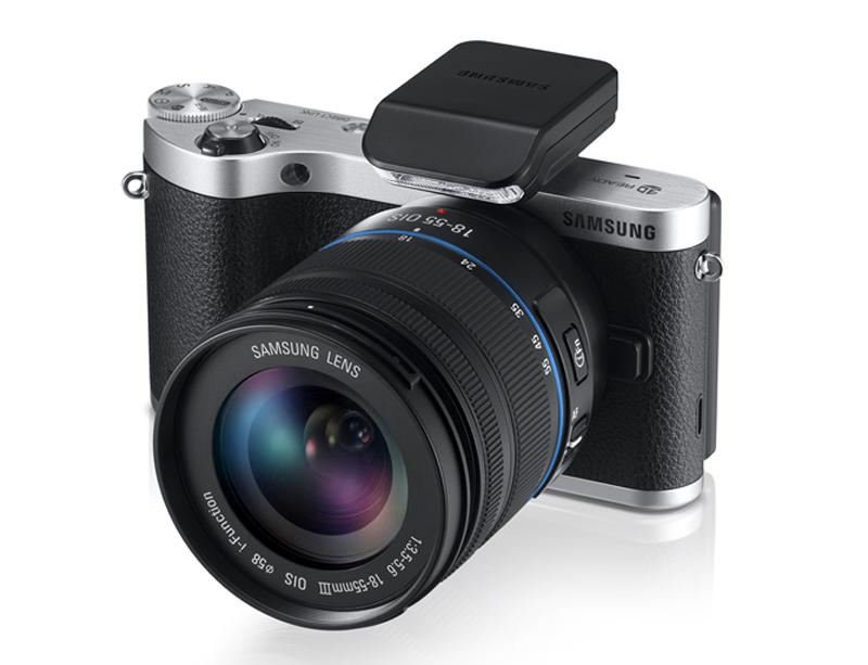 Design-wise the Samsung NX300 has a considerably more retro style than other NX cameras