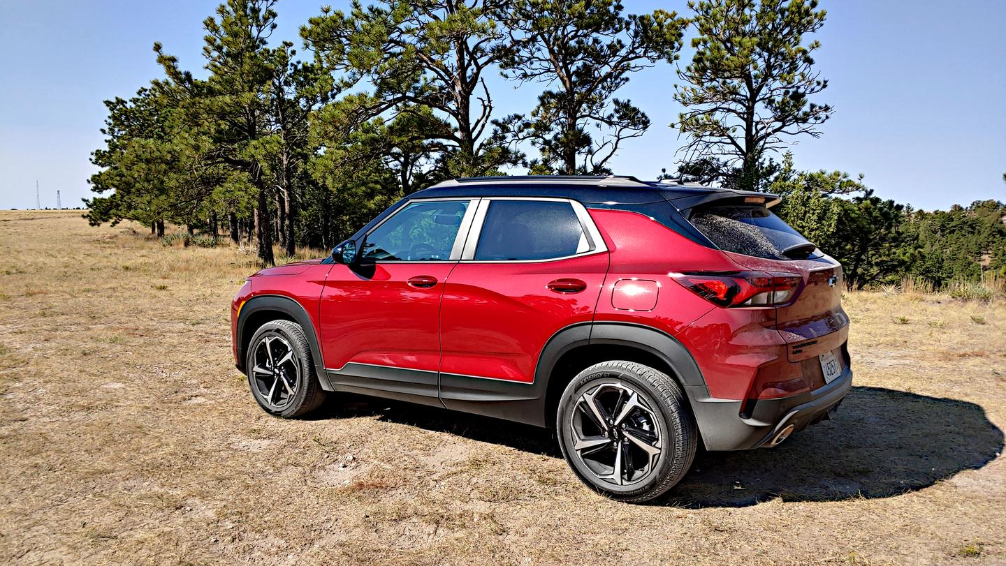 Unlike some competitors, the 2021 Chevrolet Trailblazer doesn't sacrifice cargo space or rear seat headroom