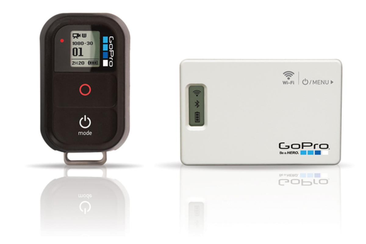 GoPro's Wi-Fi BacPac + Wi-Fi Remote Combo Kit allows users to remotely control up to 50 HERO actioncams