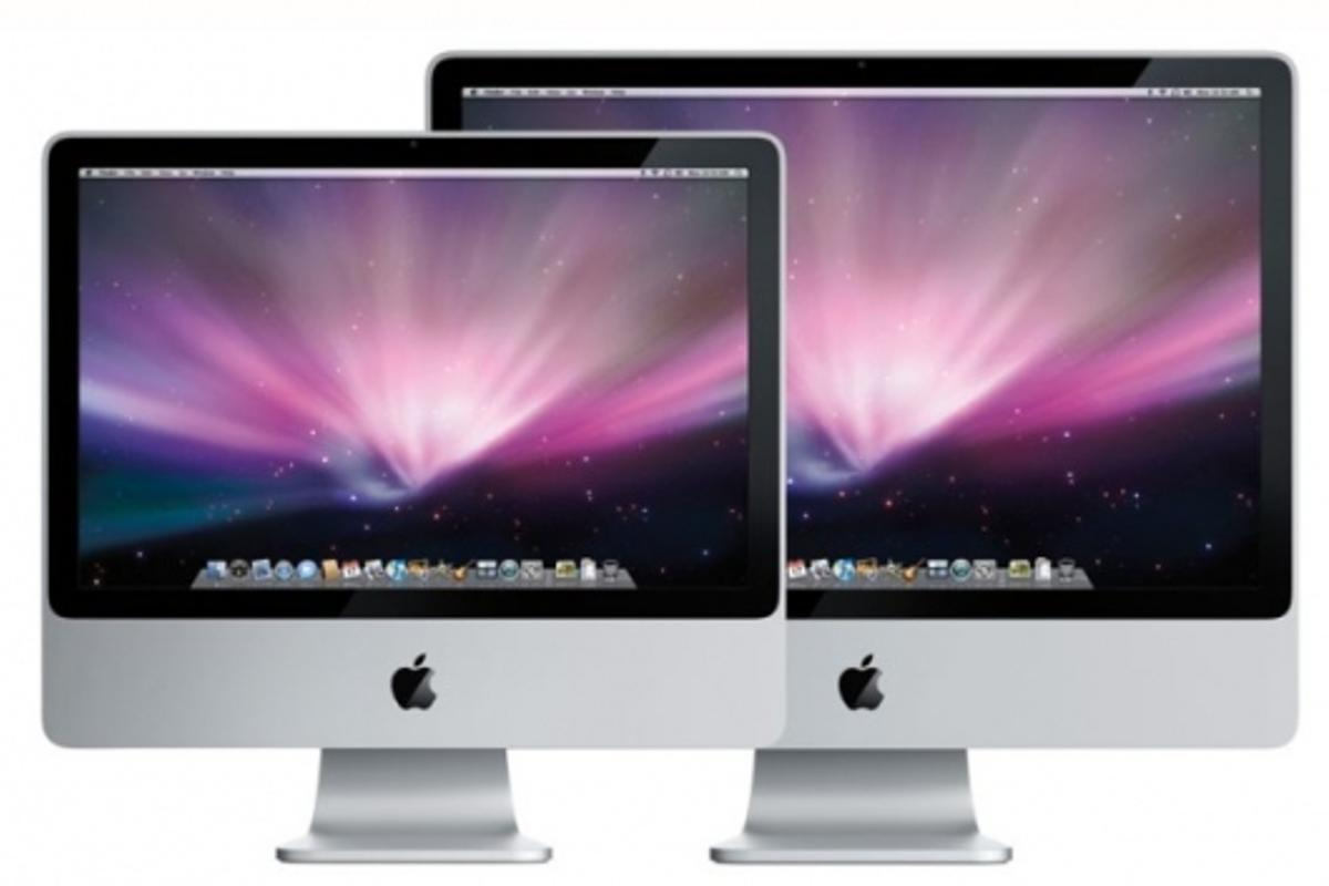 """Apple update: 20"""" and 24"""" iMacs"""