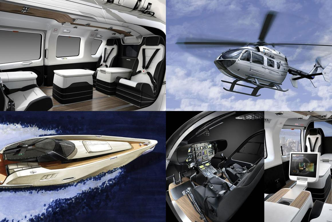 Luxury Helicopters For Sale >> The Mercedes Benz Style Ec145 Luxury Helicopter