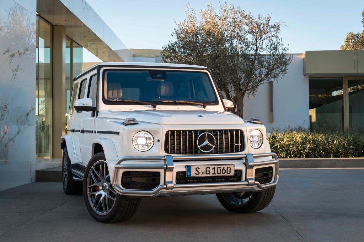 The external changes tease what's been added underneath the new Mercedes-AMGG 63, set to debut in Geneva