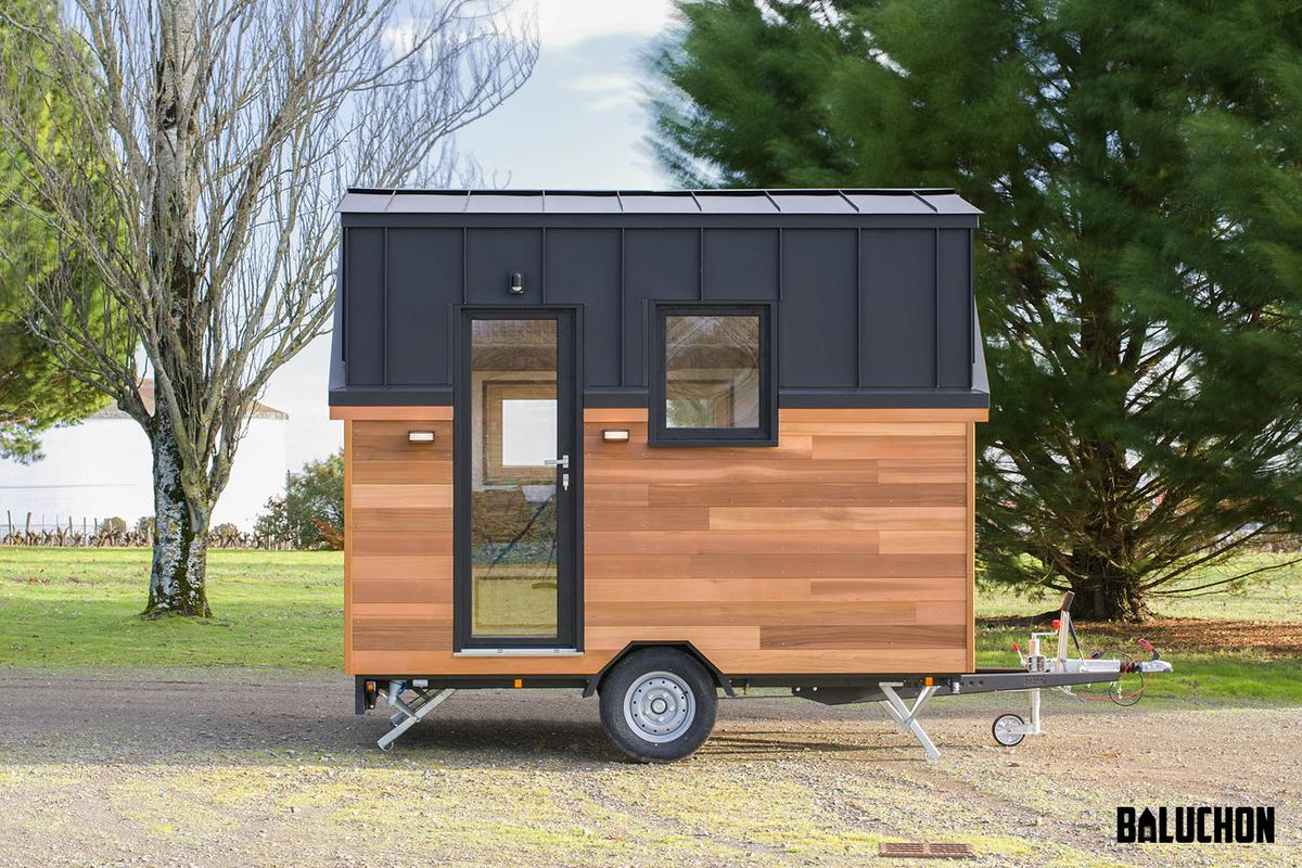 Tiny House Nano is used as a vacation home