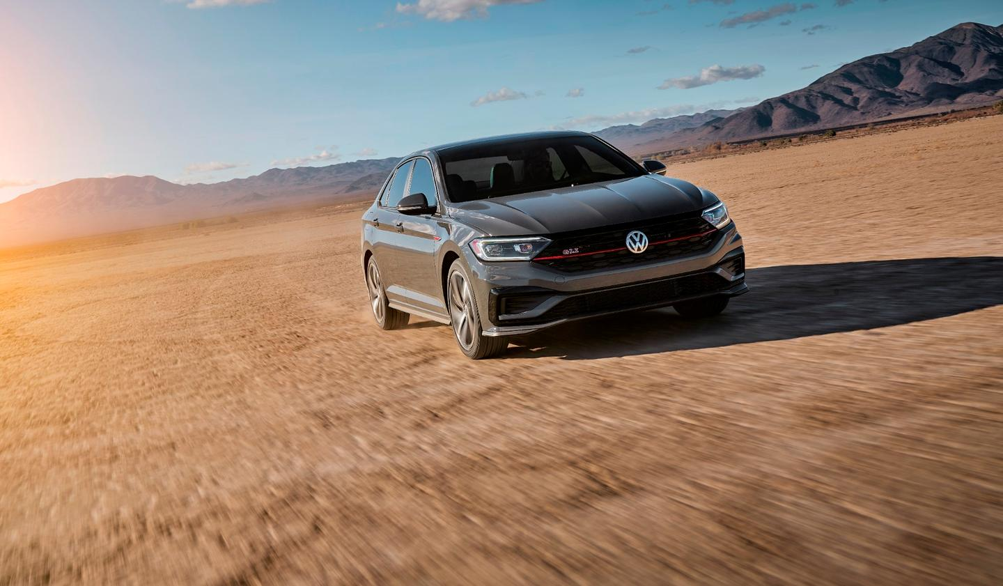 The 2019 VW Jetta GLI adds some styling cues to differentiate it from the standard Jetta models