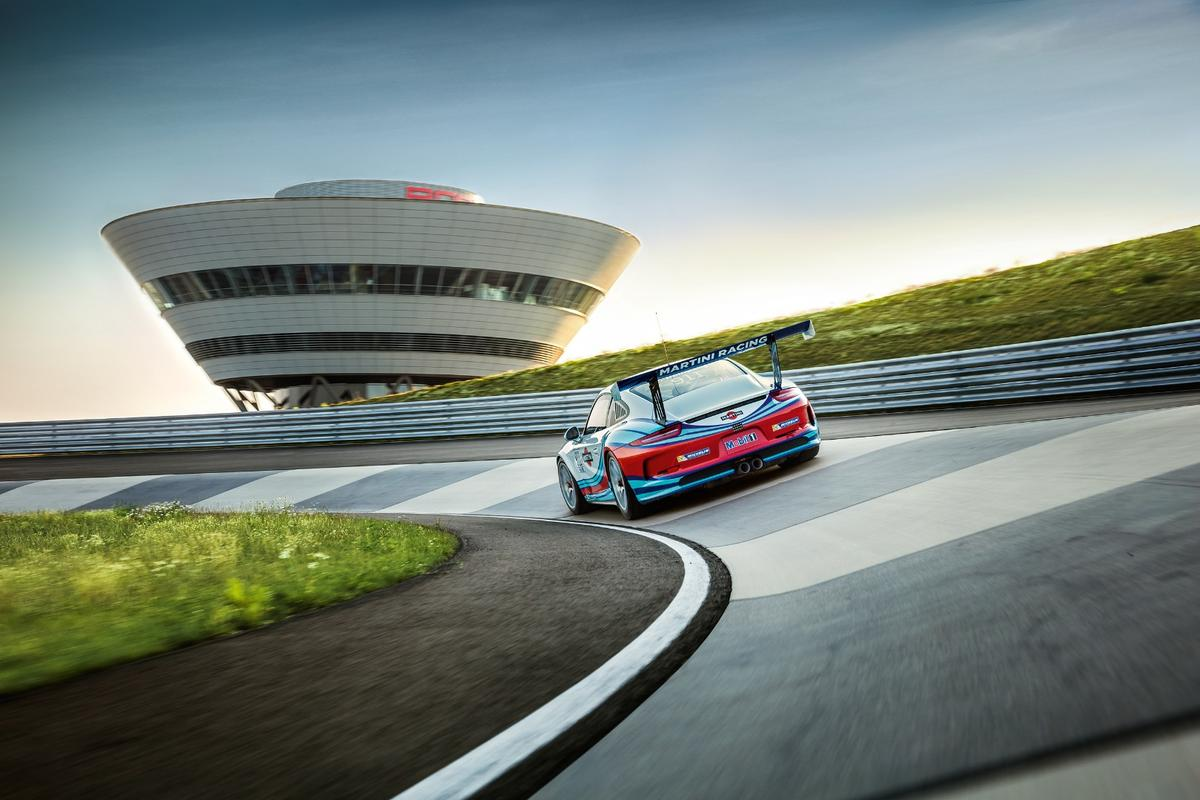 Porsche's immaculate on-road circuit at Leipzig looks like an absolute beauty