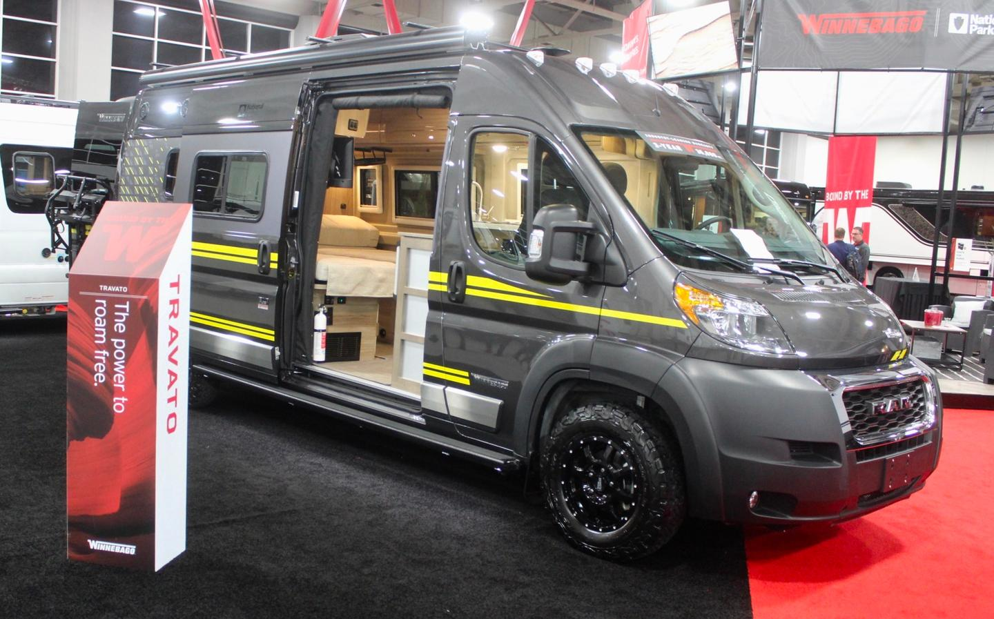 from luxury travel to modular adventure  the best american camper vans of rvx 2019