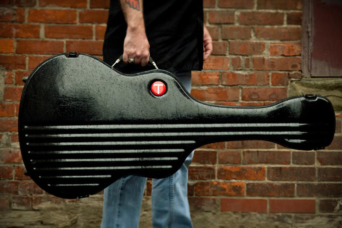 The DNone next generation guitar travel case