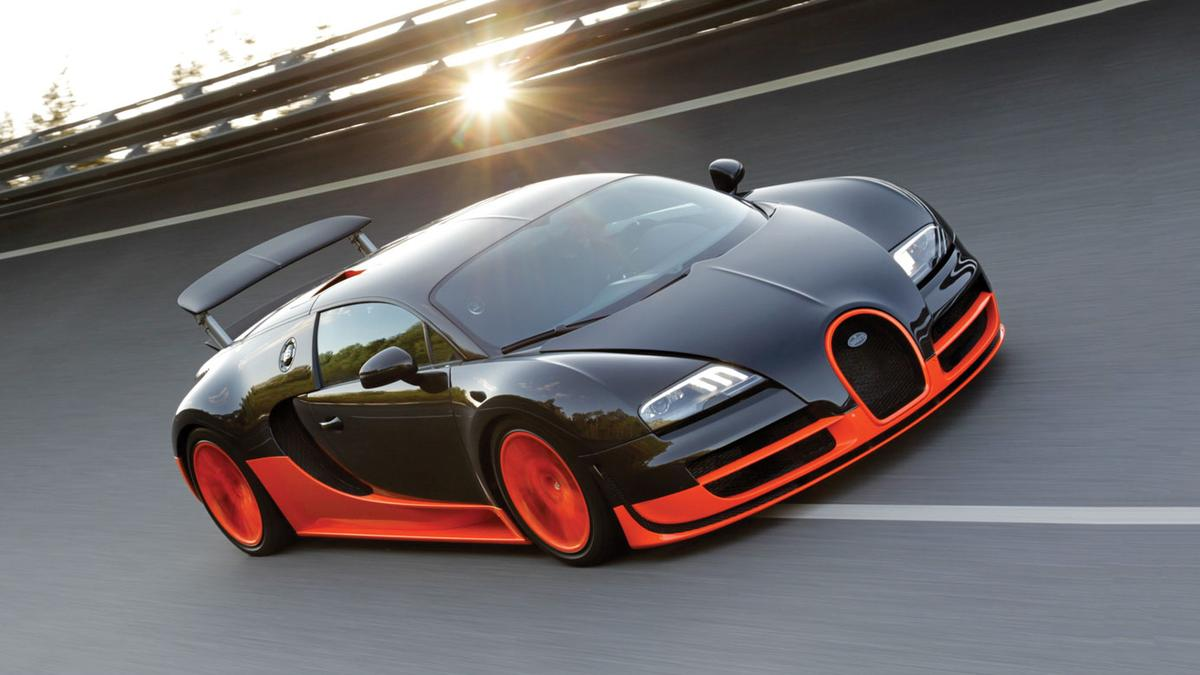 The Bugatti Veyron Super Sport 16.4 is (officially) the fastest production car in history