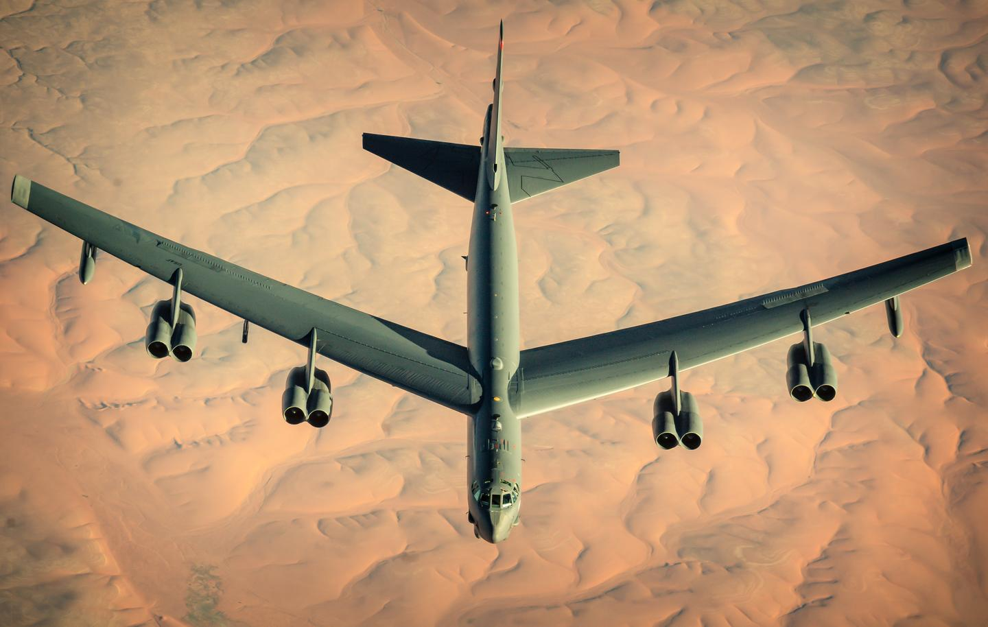 The Rolls-Royce F-130 engine will reduce in-air refueling of the B-52