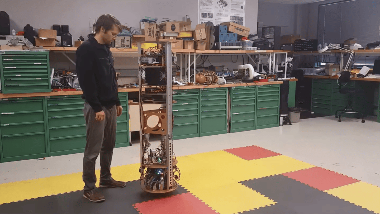 The SIMbot design could make ballbots cheaper and more accessible