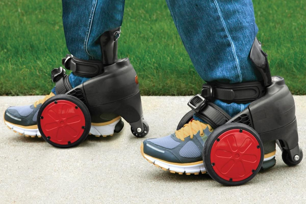 spnKiX - motorized skates capable of speeds up to 8 mph