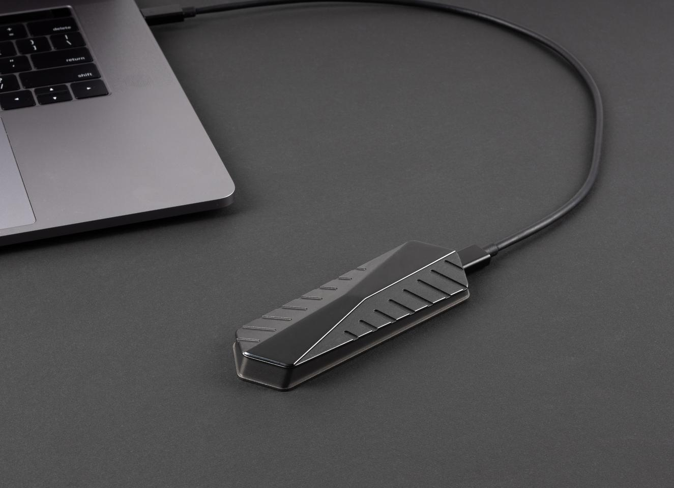 GigaDrive is an SSD with read and write speeds of up to 2,800 MB/s