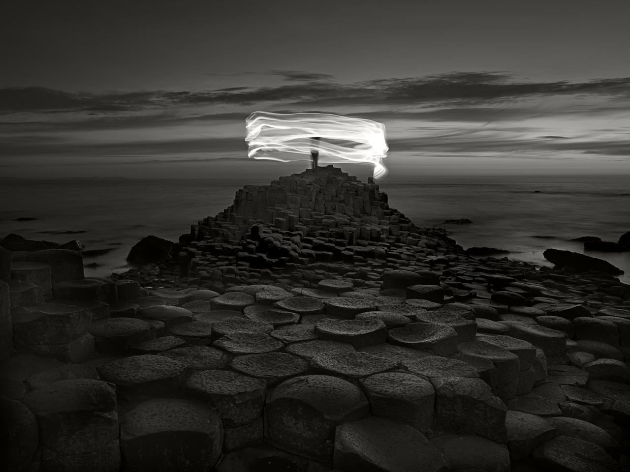 3rd Place / Oneshot : Movement/Fine Art. Taken in Northern Ireland at the Giant's Causeway, an area of about 40,000 interlocking basalt columns