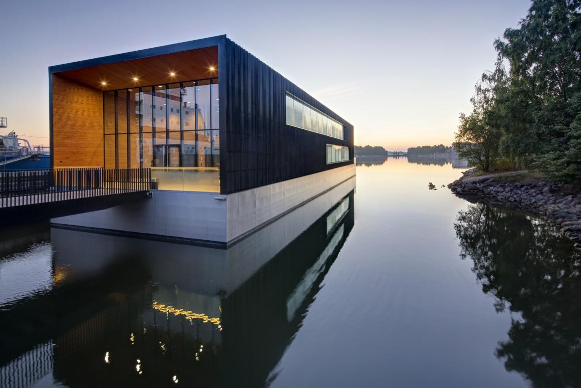 Arctia Shipping Ltd has moved its headquarters into a floating office building in Helsinki