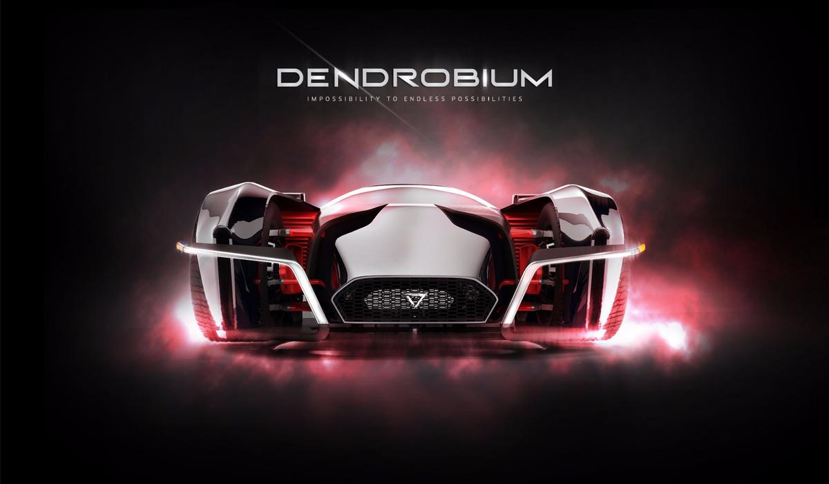 Singapore's Dendrobium electric hypercar: super-low front grill