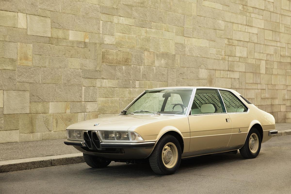 The Garmisch is a recreation of a classic concept by Marcello Gandini for the Bertone design house that was shown at the Geneva Motor Show in 1970