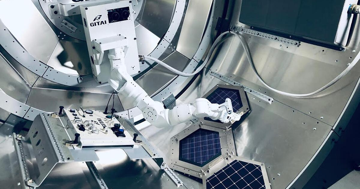 JAXA teams with GITAI for world-first private sector space robotics demo