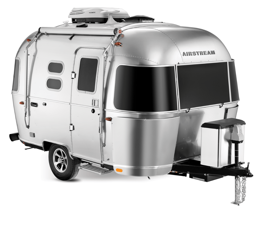 Never afraid to mix its nostalgic pedigree some modern-day styling, Airstream has brought back two of its classic compact trailers for those looking to keep life light on the road
