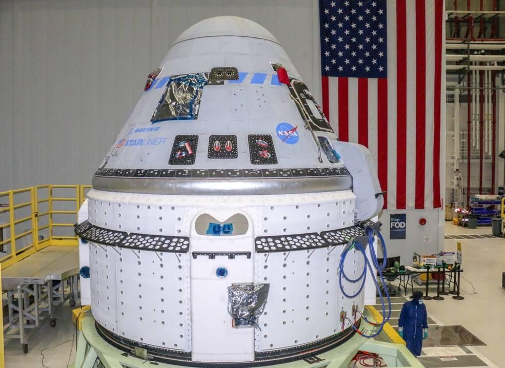 The Boeing Starliner capsule is a part of NASA's Commercial Crew Program