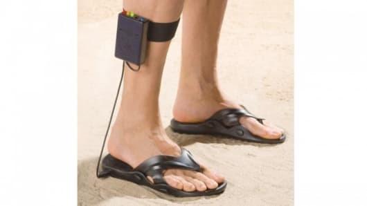 Hellooo ladies - it's the Metal Detecting Sandal