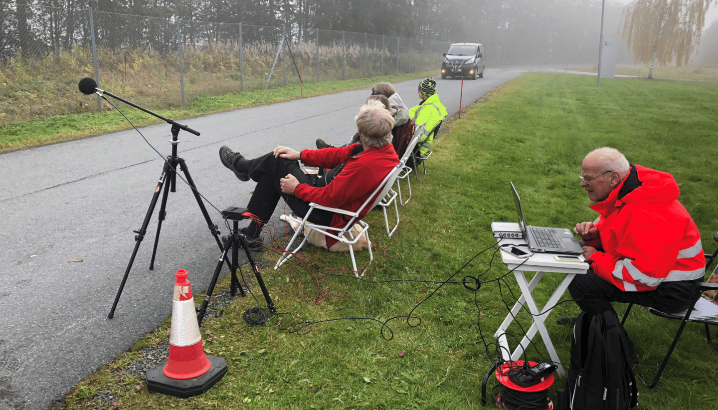 Tests of the systemwere performed at a quiet location in Tiller, near the Norwegian city ofTrondheim