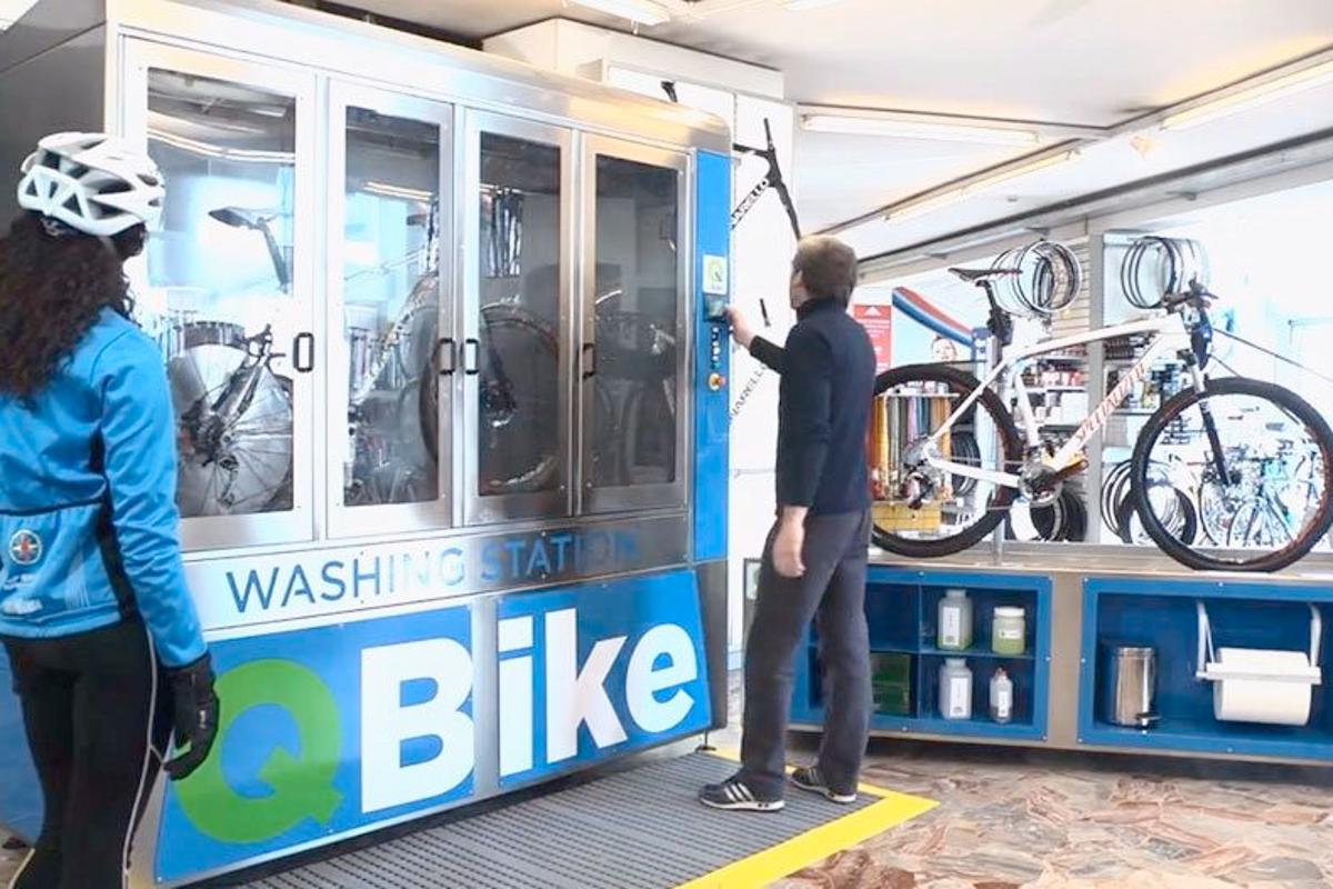 The QBike system in use