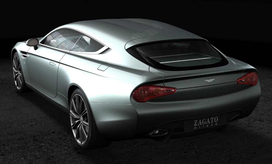 The Zagato Aston-Martin Virage Shooting Brake was specially constructed for a European client