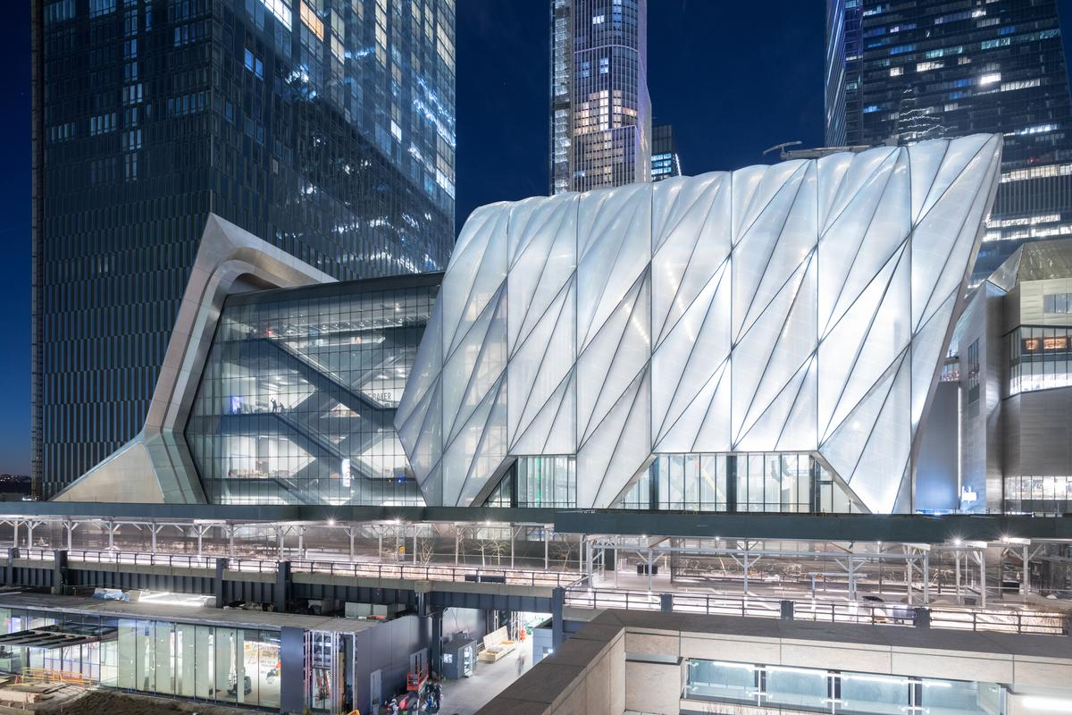 The Shed, by Diller Scofidio + Renfro with Rockwell Group, is one of the 76 projects shortlisted for the 2019 Beazley Design of the Year
